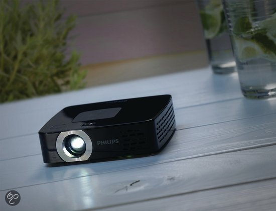 philips picopix 2480 mini beamer projector wvga 80 ansi lumen zwart. Black Bedroom Furniture Sets. Home Design Ideas