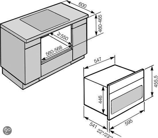 Inbouw Oven Combi Inbouw Combi Magnetron h