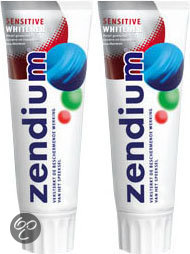 Zendium Tandpasta Sensitive Whitener Duopack