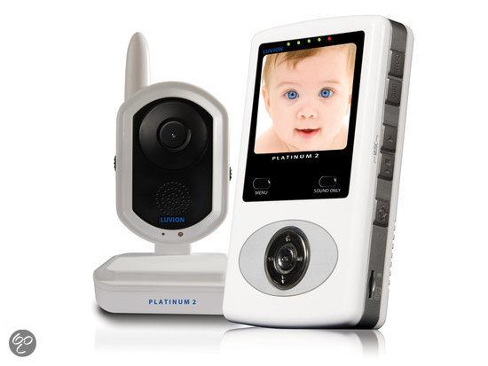 Luvion - Platinum 2 Babyfoon met camera