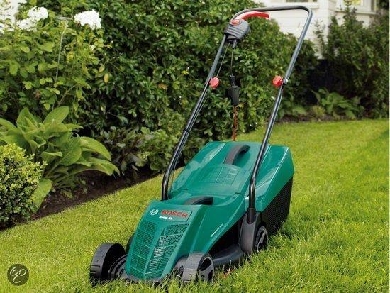 Bosch rotak 32 grasmaaier 1200 watt 32 cm maaibreedte tuin - Prieel tuin leroy merlin ...