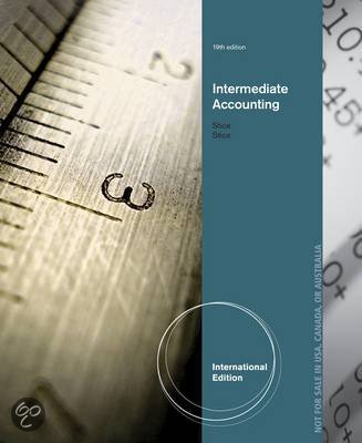 Intermediate Accounting, International Edition