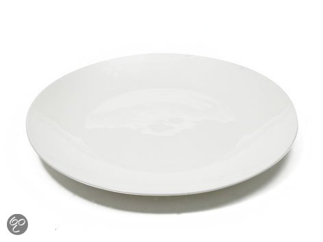 Maxwell & Williams Cashmere Round - Dinerbord - Ø 27.5 cm - Wit