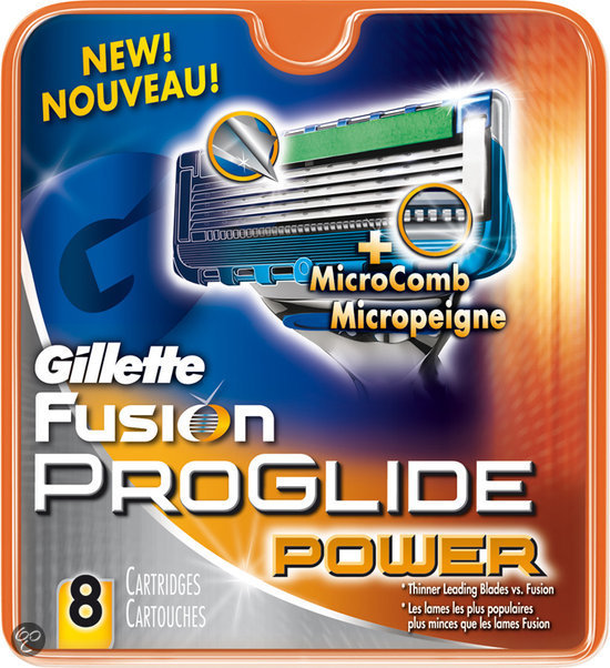 Gillette Fusion Proglide Power - 8 stuks - Scheermesjes