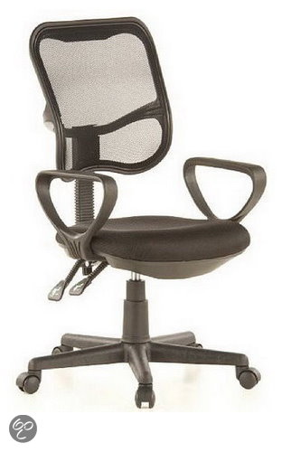 hjh office City 50 - Bureaustoel - Zwart in Fontenoille