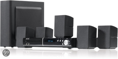 Akai AHC1400 - 5.1 Home Cinema Set - Zwart