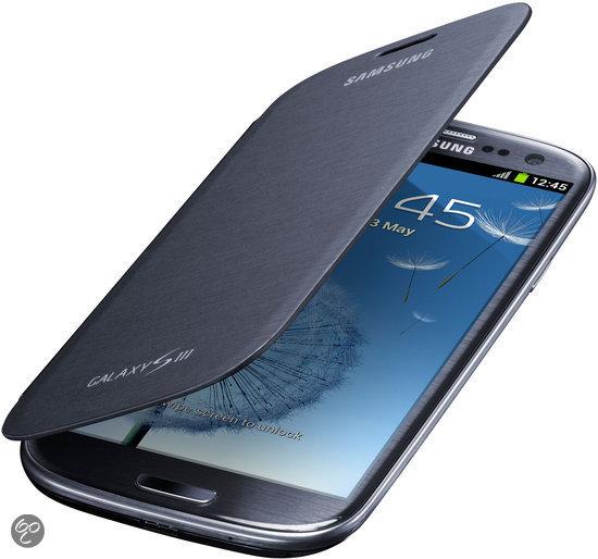 Samsung Flip Cover voor de Samsung Galaxy S3 - Blauw