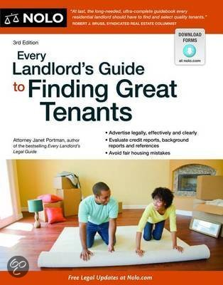 Bol com every landlord s guide to finding great tenants janet