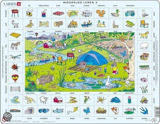 bol.com : Larsen puzzel- Woordjes leren 3- EN4HO, Onbekend ...