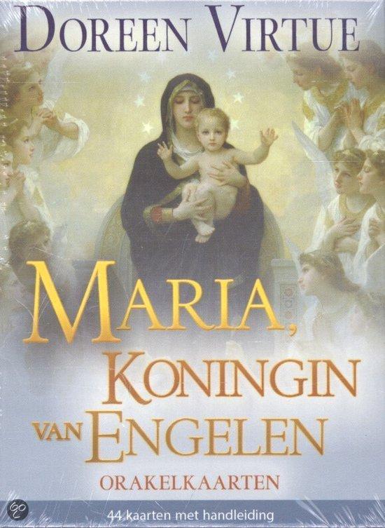 Maria, Koningin van Engelen orakelkaarten + handleiding
