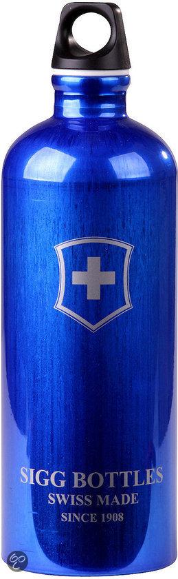 SIGG 0.6l Swiss Emblem Dark Blue in Alteveer