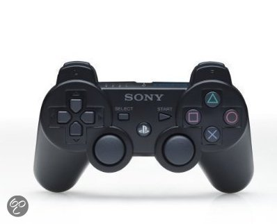 Sony PlayStation Wireless Dualshock Controller Zwart PS3
