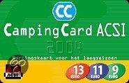 Acsi campingcard 2004