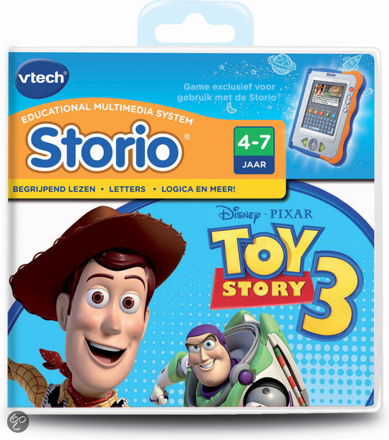 VTech Storio Game Toy Story 3