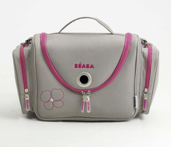 Baba Beautycase - Vanity Sydney - Grijs met fuchsia