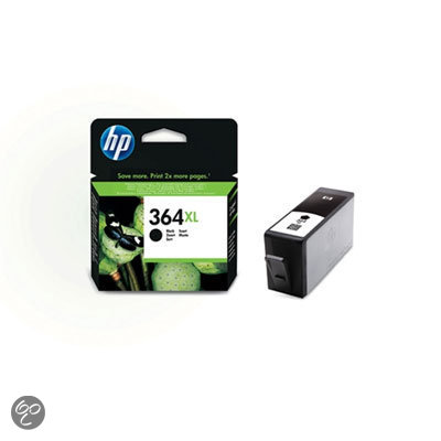 HP 364XL Inktcartridge - Zwart