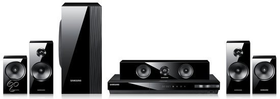 Samsung HT-E5500 - 5.1 Blu-Ray Home Cinema Set - Zwart