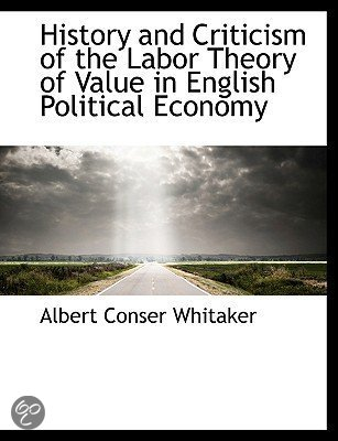 labour theory of value pdf