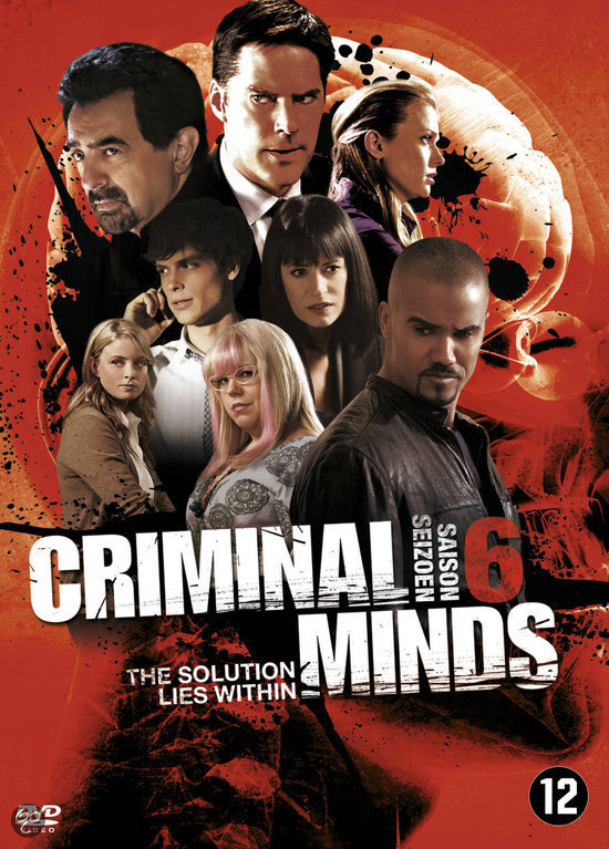 Criminal Minds - Seizoen 6 (Dvd)