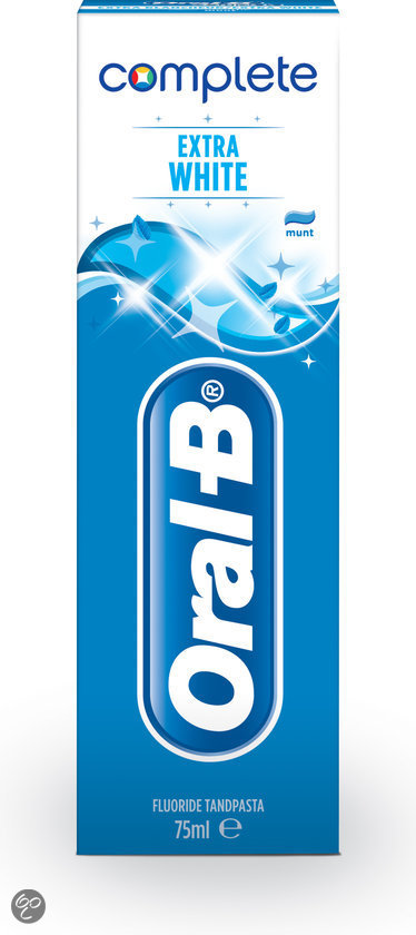 Oral-B Complete Extra White - 75 ml - Tandpasta
