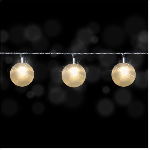 bol com   Luca Lighting   Snoer Bal met 8 Warmwitte LED Lampjes   Lengte Snoer 105 cm