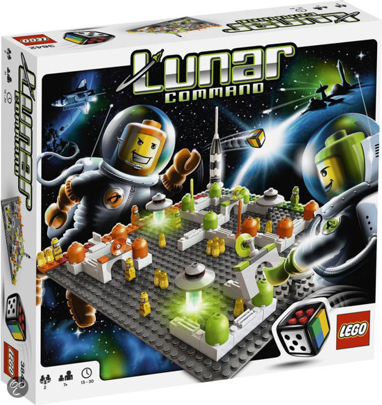 LEGO Spel Lunar Command - 3842