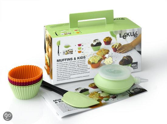Lékué Muffinset voor Kinderen