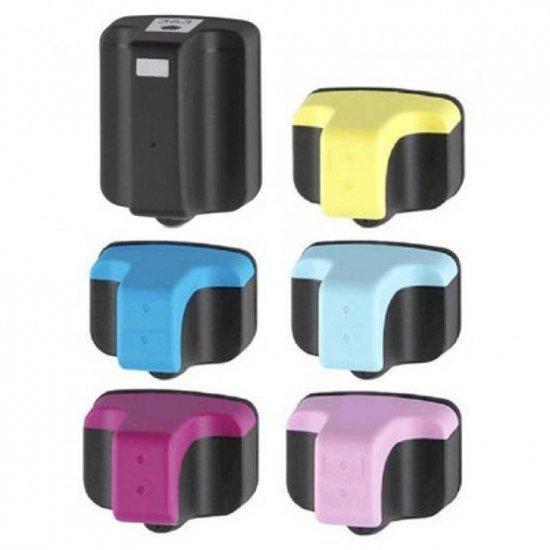 Merkloos - Inktcartridge / Alternatief voor de HP 363 inktcartridges Set zwart & kleuren