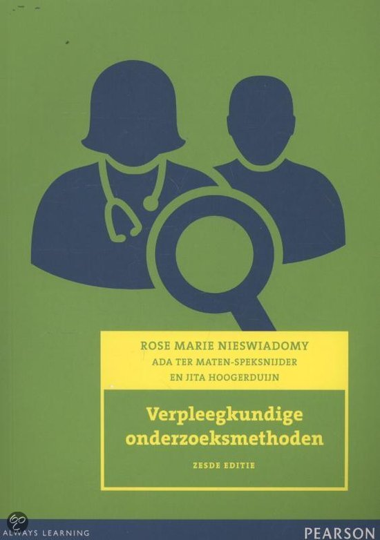 Verpleegkundige onderzoeksmethoden