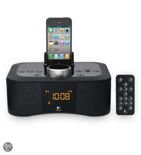 Logitech S400i - Klokradio met docking station