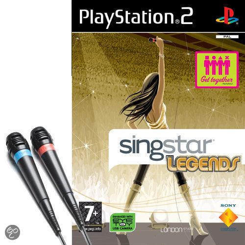 Singstar Legends & 2 Microfoons