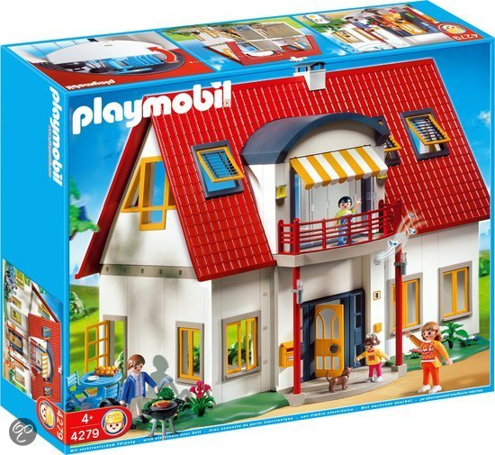 playmobil moderne villa 4279 playmobil speelgoed. Black Bedroom Furniture Sets. Home Design Ideas