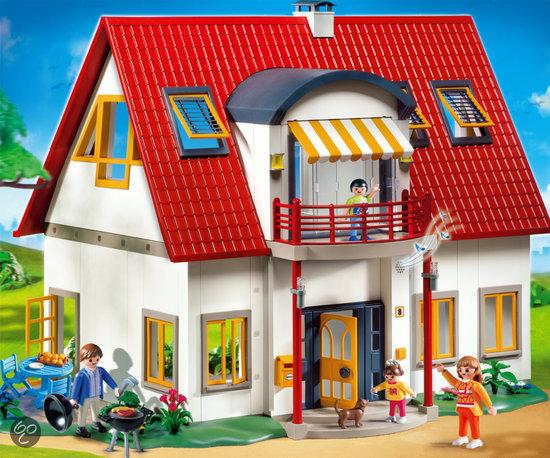 playmobil moderne villa 4279 playmobil speelgoed. Black Bedroom Furniture Sets. Home Design Ideas