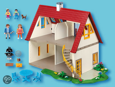 Playmobil moderne villa 4279 playmobil speelgoed for 4279 playmobil