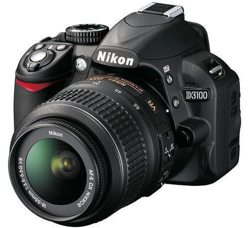 Nikon D3100 + 18-55 mm VR - Spiegelreflexcamera