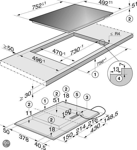 miele kookplaat km 6351 zwart elektronica. Black Bedroom Furniture Sets. Home Design Ideas