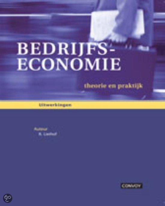 Bedrijfseconomie / deel Uitwerkingenboek