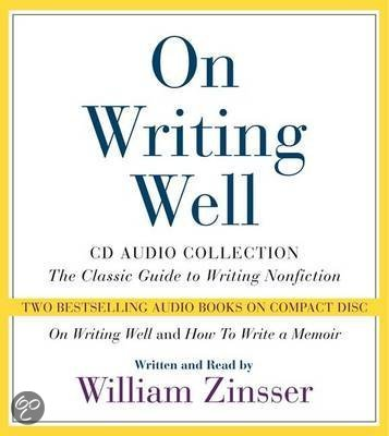 on writing well zinsser Find great deals on ebay for on writing well zinsser shop with confidence.