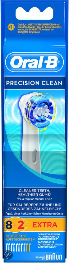Oral-B Precision Clean - 8 + 2 Extra Opzetborstel