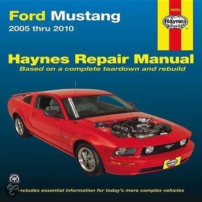 Mustang manual service 2005 pdf