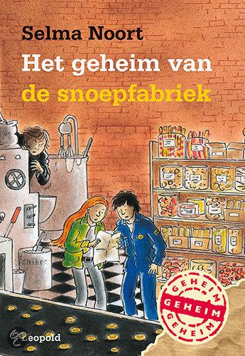 Het geheim van de snoepfabriek