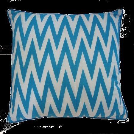 bolcom the sixtine sierkussen zigzag turquoise
