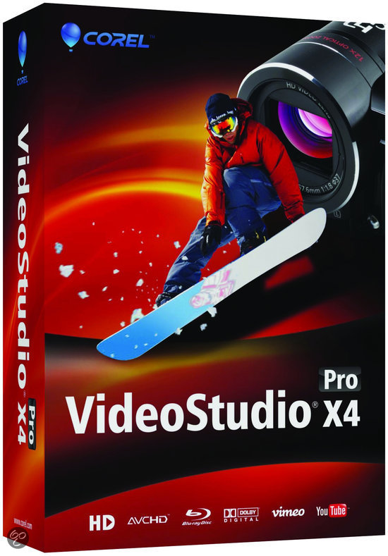 Corel Video Studio Pro X4 - WIN / Engels