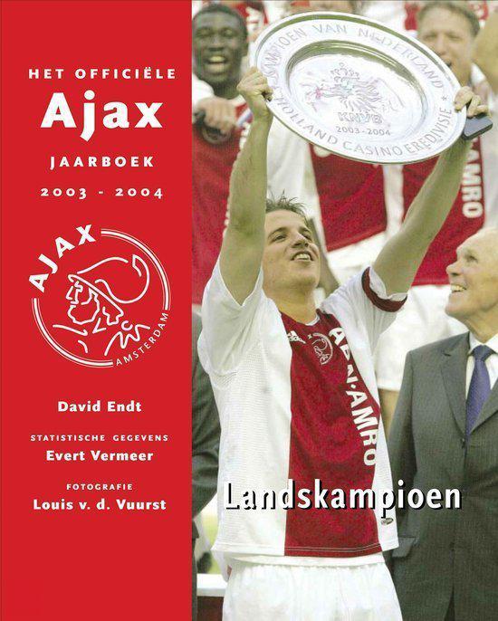 Cover van het boek 'Ajax jaarboek / 2003-2004'