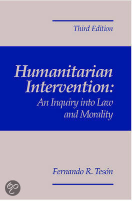 humanitarian intervention in somalia Un actions in somalia, analyzes the possible legal impediments to  humanitarian intervention by the united nations, and defines the legal precedent  set by the.
