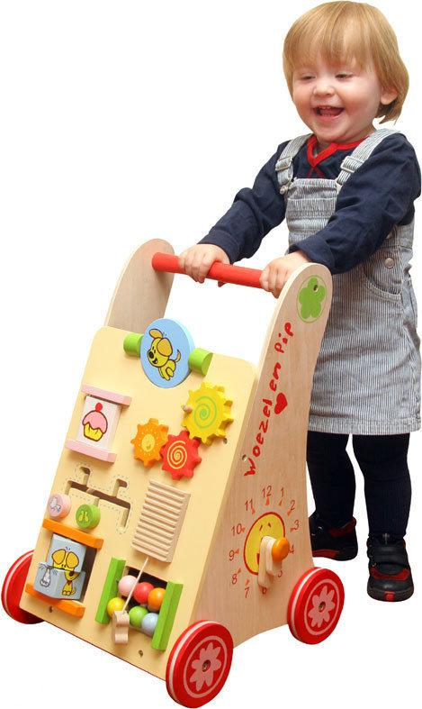 Woezel en Pip Babywalker - Hout