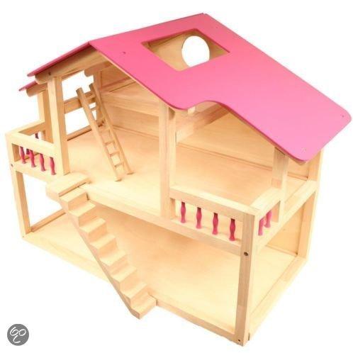 Groot poppenhuis pintoy speelgoed for Groot poppenhuis