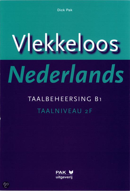 Vlekkeloos Nederlands / Taalbeheersing CEF B1