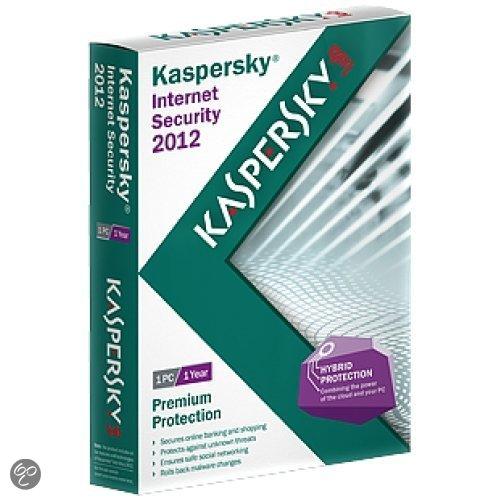 Kaspersky Internet Security Personal 2012 - Benelux / 1 licentie / 1 jaar / DVD