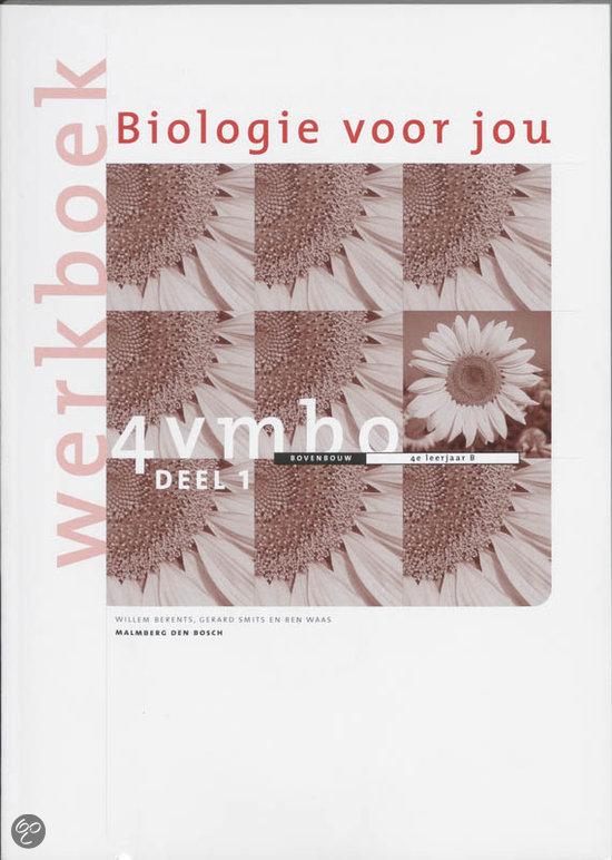 Biologie voor jou / 4 vmbo b / deel werkboek 1 + cd-rom / druk 4